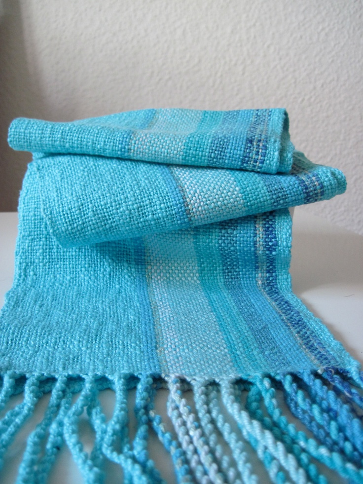 Turquoise Handwoven