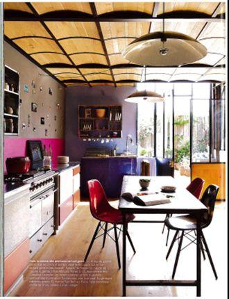 Egouttoir indien urban masala dans le magazine marie claire maison mai juin 2013