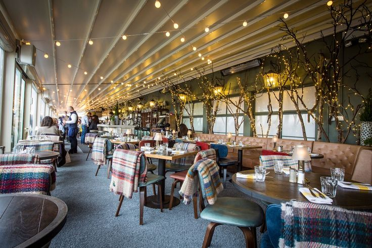 Go to Selfridges' Le Chalet roof-top restaurant to welcome winter with BBQ'd dishes and dreamy chocolate cocktails