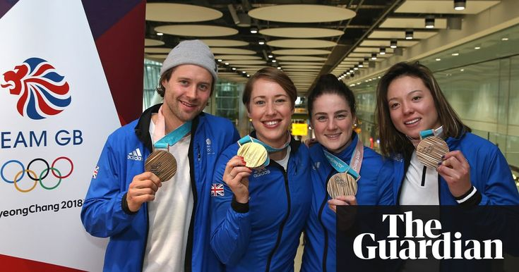 Team GB pitch for more funding to join elite of Winter Olympics  ||  Great Britain's Olympic chiefs called for more funding in order to join the elite of winter sport after arriving back at Heathrow airport following a record-breaking Games https://www.theguardian.com/sport/2018/feb/26/winter-olympics-team-gb-extra-funding-beijing-2022?utm_campaign=crowdfire&utm_content=crowdfire&utm_medium=social&utm_source=pinterest