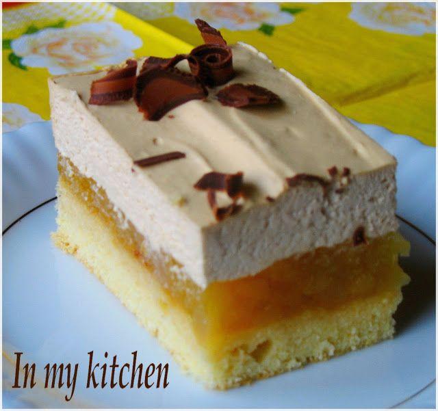 Nie będę się dzisiaj rozpisywać:) Bo i po co? Jeśli lubisz jabłka i cappuccino to ciasto bardzo Ci posmakuje bez mojego komentarza:)    ...