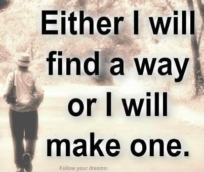 either, or!   Determination!