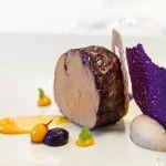 Entenleber zur Vorspeise zubereitet vom Relais & Châteaux Grand Chef Reto Lampart