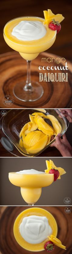 Mango kokos drink