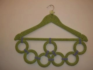 hanger for scarfs and scarves by thisthatandthose4you on Etsy, €30.00