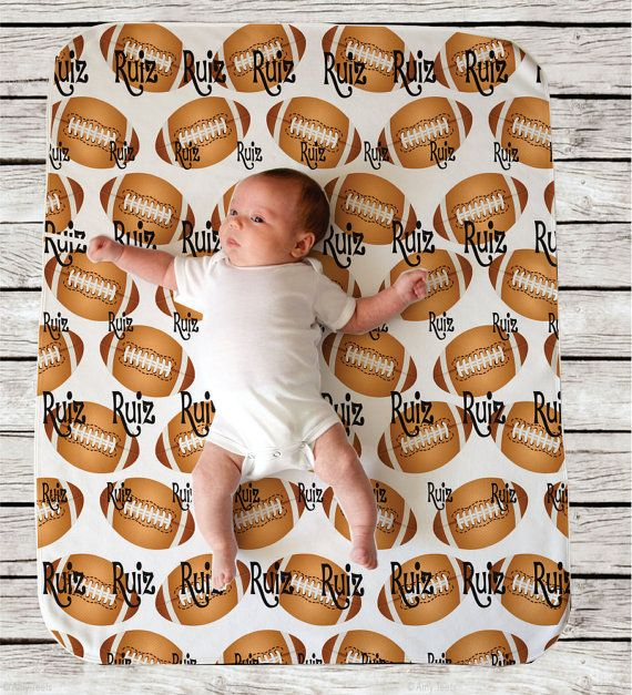 43 best big brother shirts images on pinterest big brother football sports theme personalized baby blanket swaddle blanket baby shower gift nursery decor personalized baby gift by djammarmaternity on etsy negle Image collections
