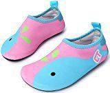 #10: Giotto Barefoot Quick-Dry Kids Men Women Water Sports Shoes Skin Aqua Socks for Swim Beach Pool Surf Yoga