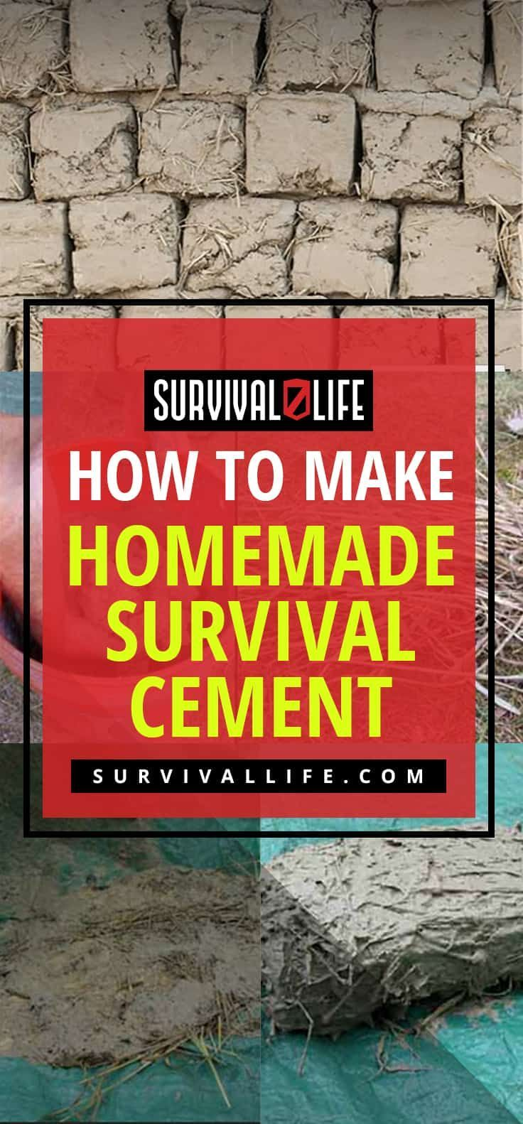 Homemade Cement | How to Make Homemade Survival Cement
