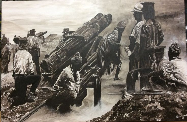 """""""Gallipoli Bombers"""" by Paula Benson from Centenary Collection."""