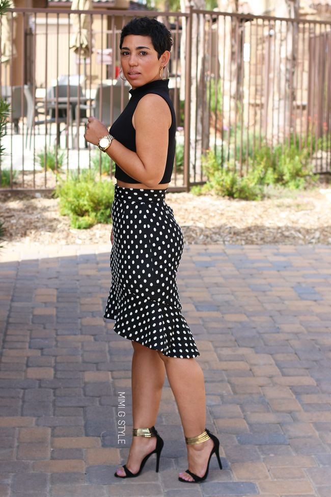 DIY Skirt Inspired By Dolce & Gabbana + Pattern Review of Burda 6955 - Mimi G Style