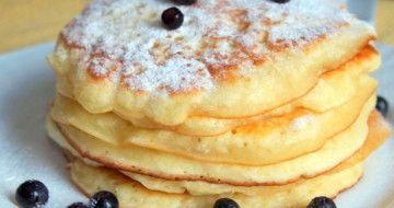 Pancakes- clătite pufoase americane