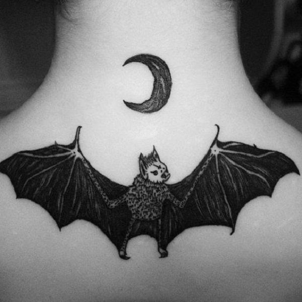 50 bat tattoo designs tatuaje en la espalda pinterest tatuaje en la espalda tatuajes y. Black Bedroom Furniture Sets. Home Design Ideas