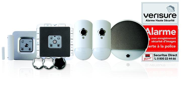 Kit t l surveillance alarme verisure securitas direct for Alarme verisure securitas direct
