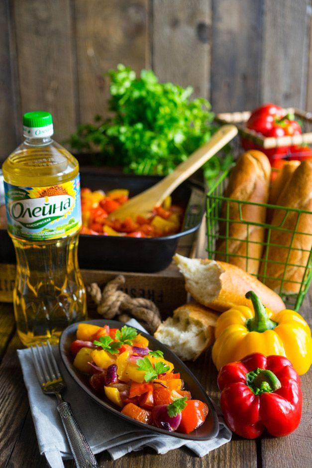 Пепероната — закуска, соус и основной гарнир Весна уже на пороге, и хоть время сезонных овощей ещё не наступило, мы можем приготовить тёплый салат, который поможет получить нам лучшие качества любимых овощей. С одной стороны — это удобный салат, готовить который просто и легко. С другой, он может выступать и как овощное рагу, а если...