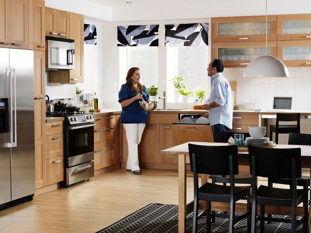 IKEA Birch Kitchen,