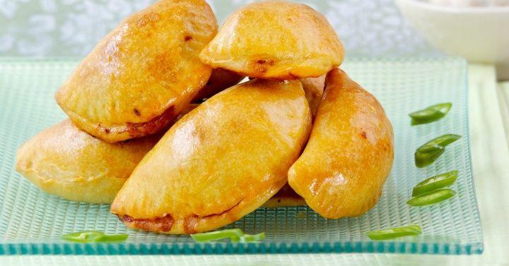 Lam og chorizo empanadillas