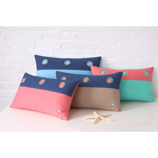 check out grommet decorative pillow from southern tide