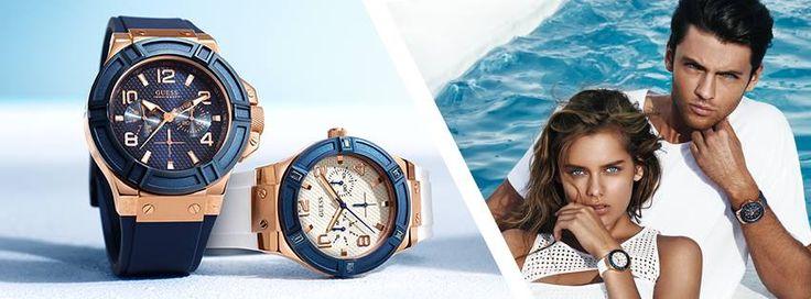 Guess horloges   Kies uit een actuele collectie Guess horloges tegen de beste prijs op http://www.horlogesstyle.nl/guess-horloges #guess #guesshorloges #rose #blue