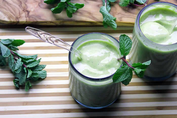 Slimmed Down Shamrock Shake (with Protein Boost) Recipe by ...