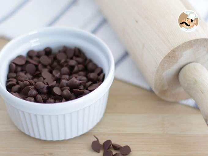 Ricetta Altro : Gocce di cioccolato fatte in casa da Petitchef_IT