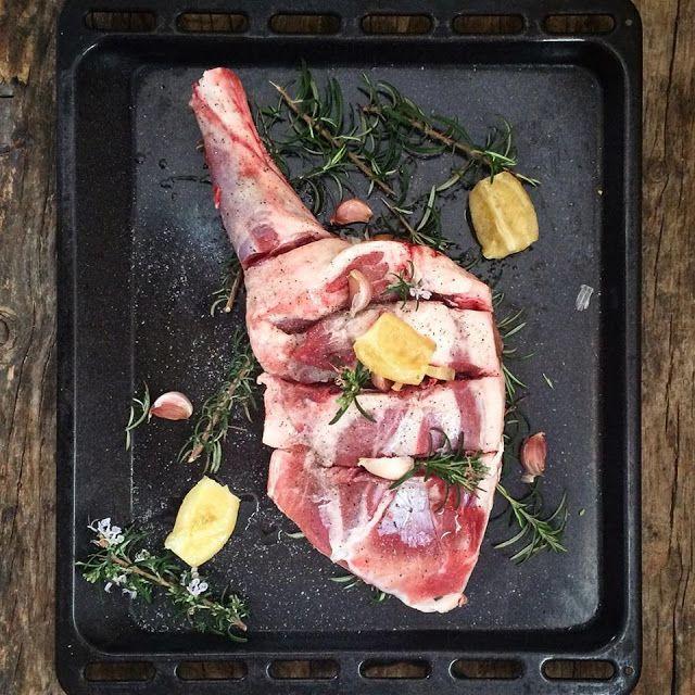 Mi Gran Diversión: Paletilla de cordero al horno by Jamie Oliver Más