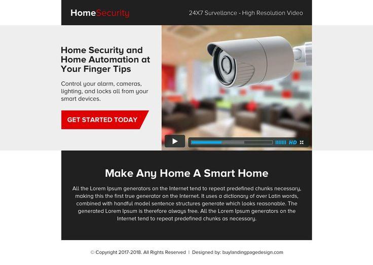 82 Best Security Landing Page Design Images On Pinterest | Lp
