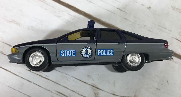 Road Champs Police 1995 Chevrolet Caprice Virginia State Police Diecast Car 1/43 #RoadChamps #Chevrolet