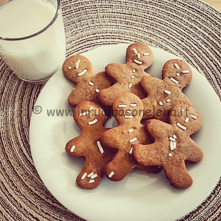 Biscotti di castagne e limone
