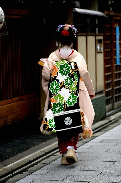 Maiko in Kyoto, Japan