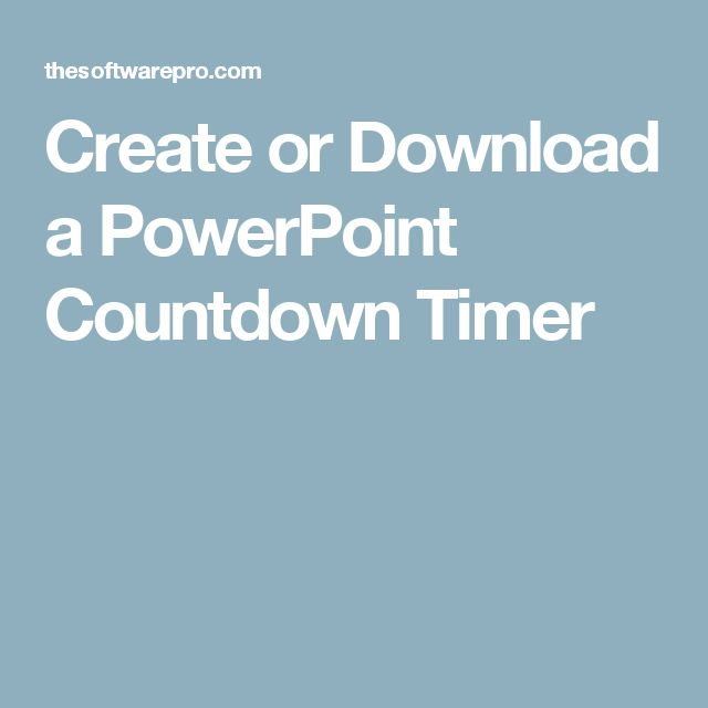 the 25+ best countdown timer download ideas on pinterest | free, Modern powerpoint