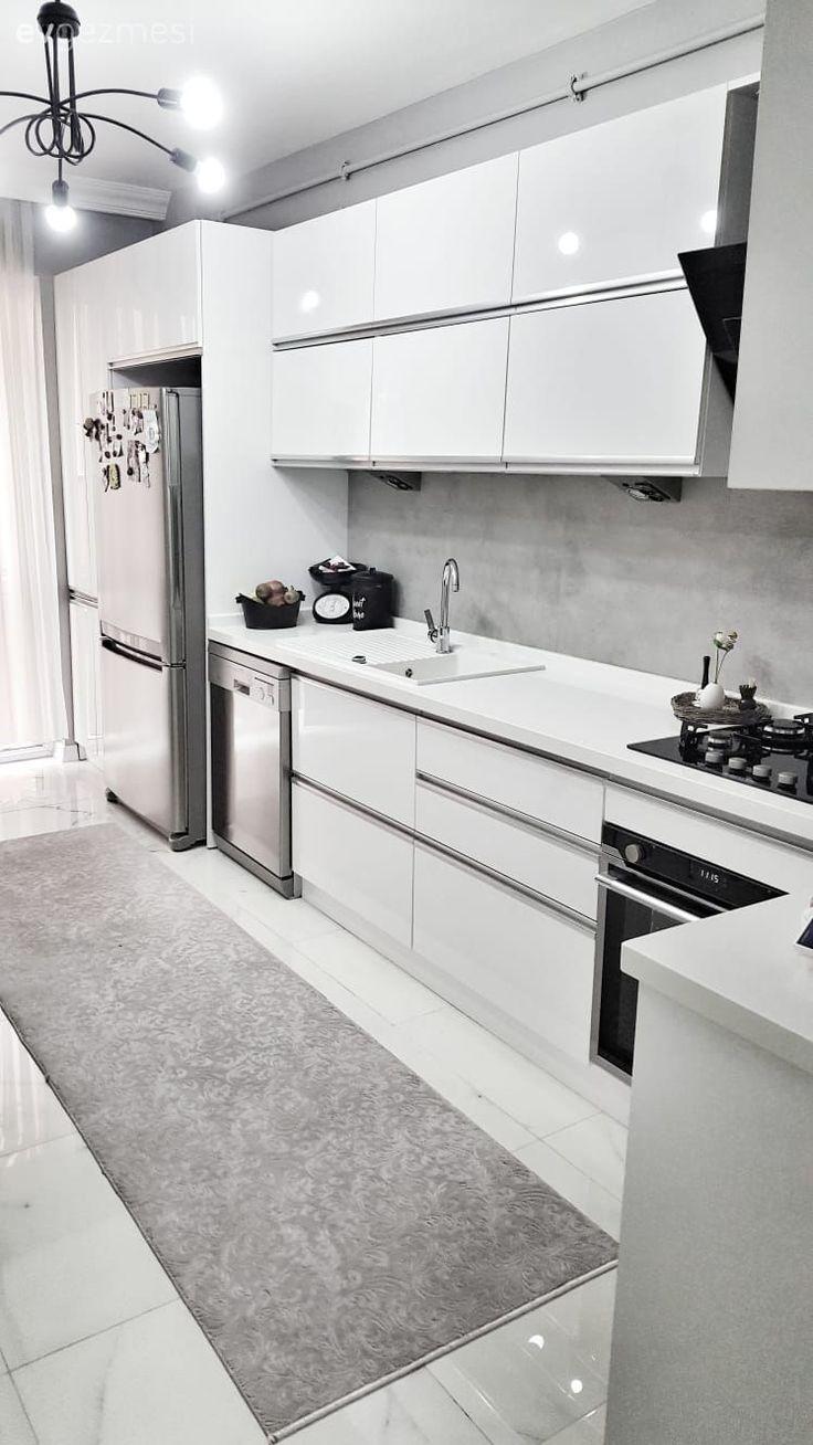 Aydınlatmasından, Aksesuarlara Bu Mutfak Tasarımının Her Detayı Uyumlu – nilufer koç