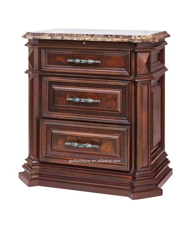 Manufacturers List Price Solid Wood Bedroom Furniture Wa150