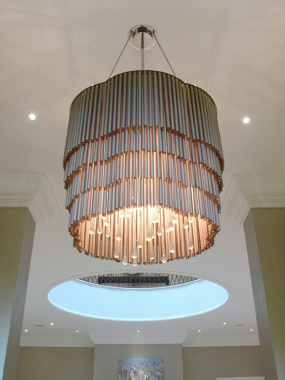 private residential contemporary lighting L1