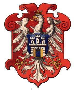 Arch-Duchy of Krakau [now Kraków, Poland)], by Hugo Gerhard Ströhl, 1890.