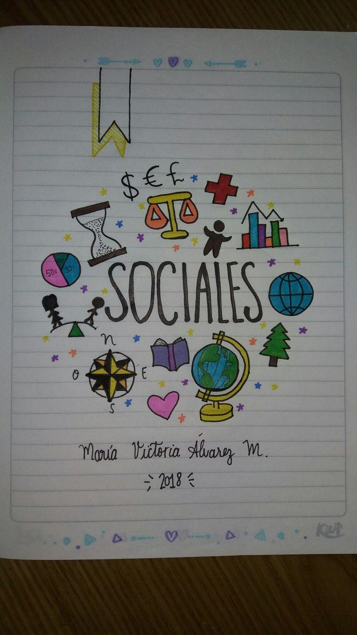 Cuaderno Sociales Social Notebook