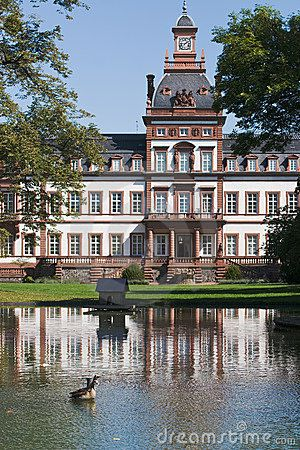 Philippsruhe Castle Hanau, Germany I was married here once. Great fireworks off the ramparts during Fashing.