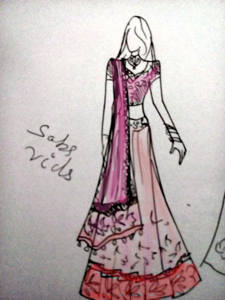 fashion sketches of indian wedding dresses wwwpixshark