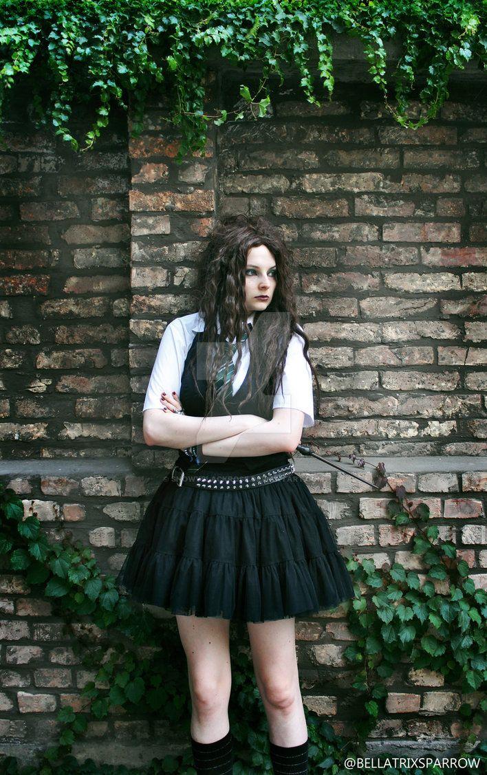 Young Bellatrix cosplay by Bellatrix Sparrow