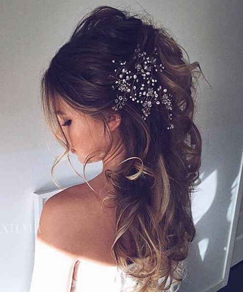 Half Updo Wedding Hairstyles