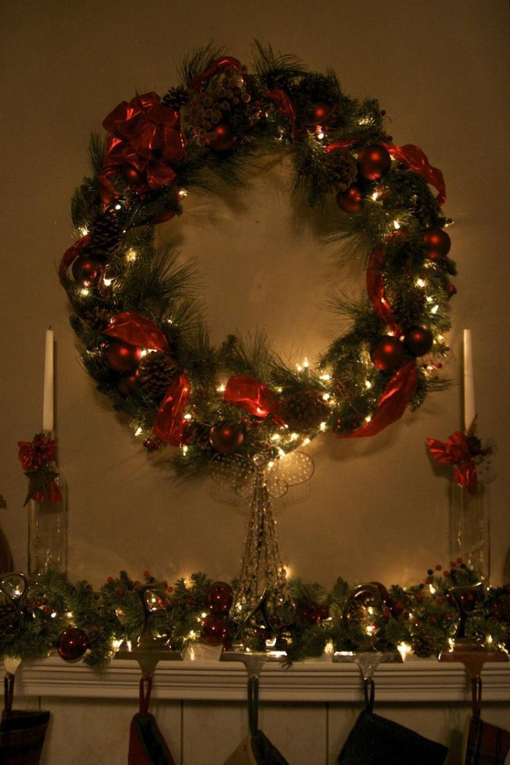 Decorating Black Front Doors For Homes Wreath Ideas For Christmas Christmas  Town Decorations 853x1280 Outside Christmas