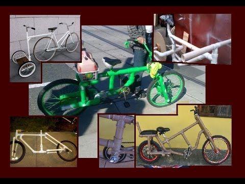 Bicicletas e Acessórios feitos com tubo de PVC - EXPOSIÇÃO