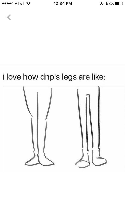 dan's got some curvy legs