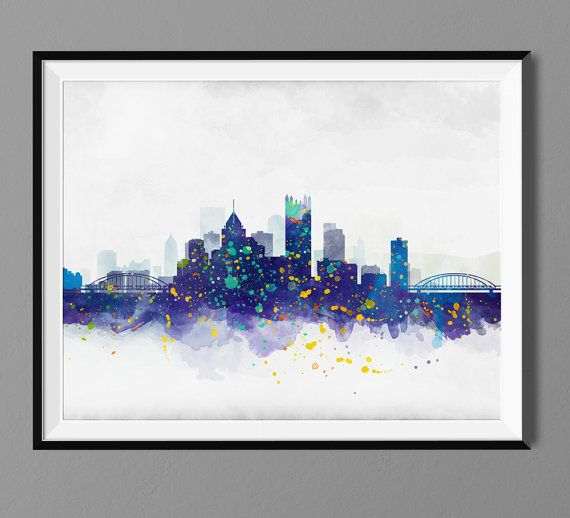 Home Decor Pittsburgh Pa: 25+ Best Ideas About Pittsburgh Skyline On Pinterest