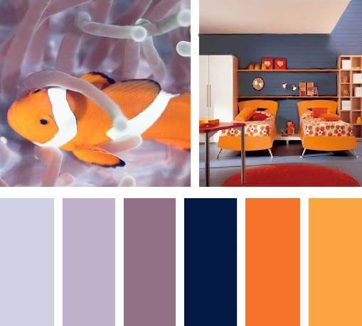 Las 25 mejores ideas sobre paletas de color naranja en - Como hacer color naranja ...