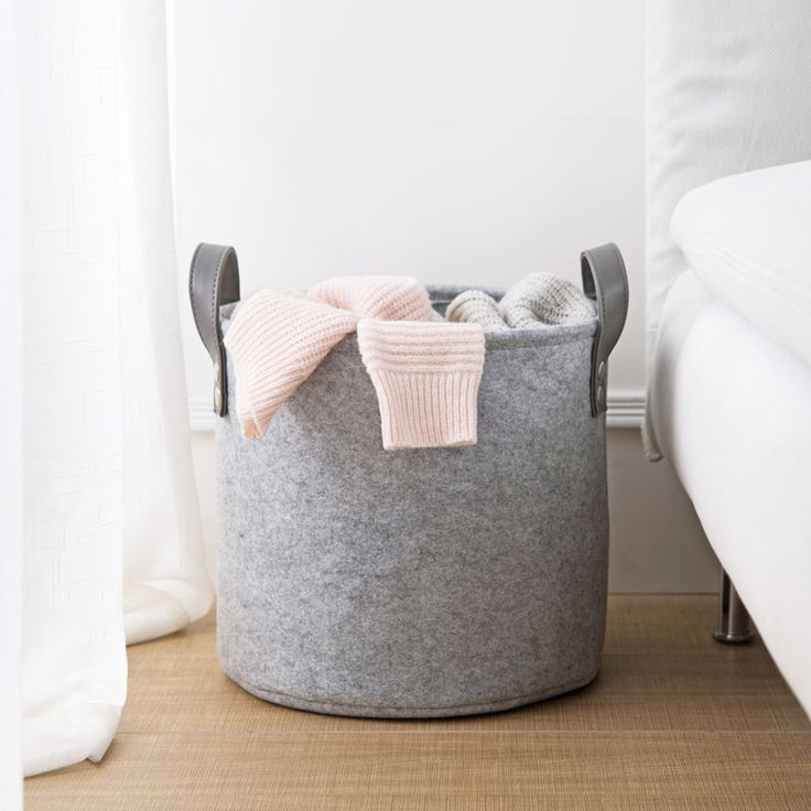 Cheap storage basket, Buy Quality bathroom laundry basket directly from China laundry basket Suppliers: Felts handy dirty clothes storage basket bathroom laundry basket living room toys clothes basket