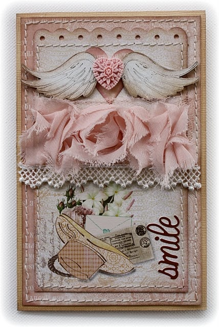 Card made by design team member Gabrielle Pollacco using NEW 'Western Romance' collection.