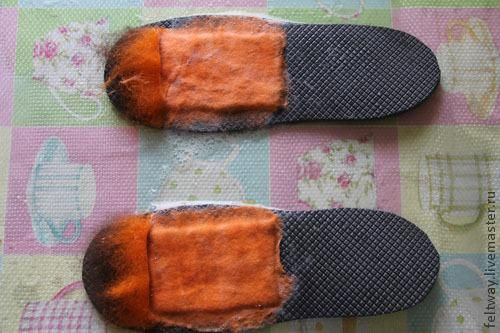 МК Как я приваливаю язычок к тапкам - кедам - Ярмарка Мастеров - ручная работа, handmade