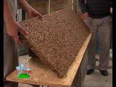 ▶ Ladrillos Reciclados de Pet y Techos Cascara de maní, CEVE. En Obras 06/02/10 - YouTube