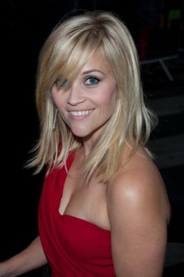 Reese. Love her medium length hair with long bangs. Oh heck...love ALL