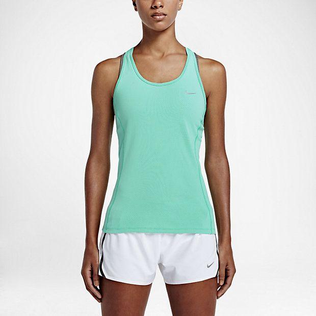 Женская майка для бега Nike Dry Contour